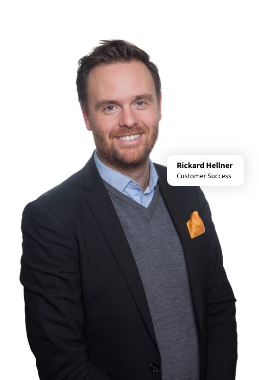 Rickard Hellner, Customer Success. CatalystOne Solutions