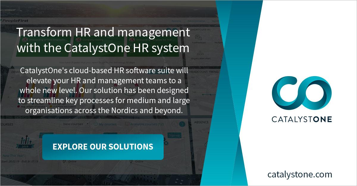 CatalystOne HRIS | HR system for optimising HR & management