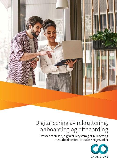 Guide til digitalisering av rekruttering, onboarding og offboarding