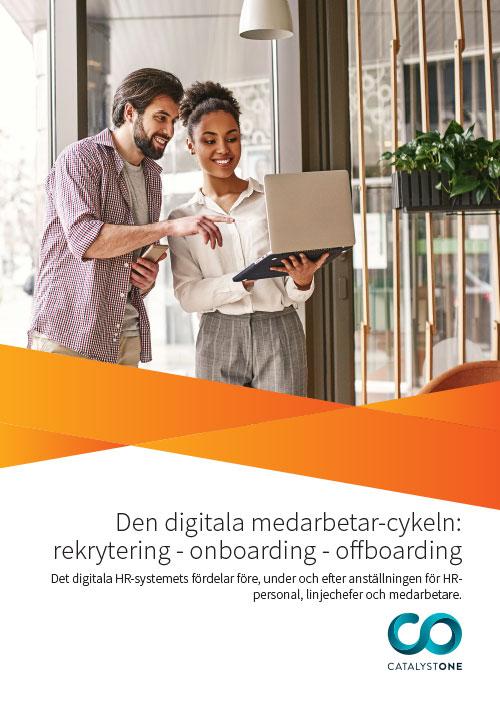 Den digitala medarbetar-cykeln: rekrytering - onboarding - offboarding